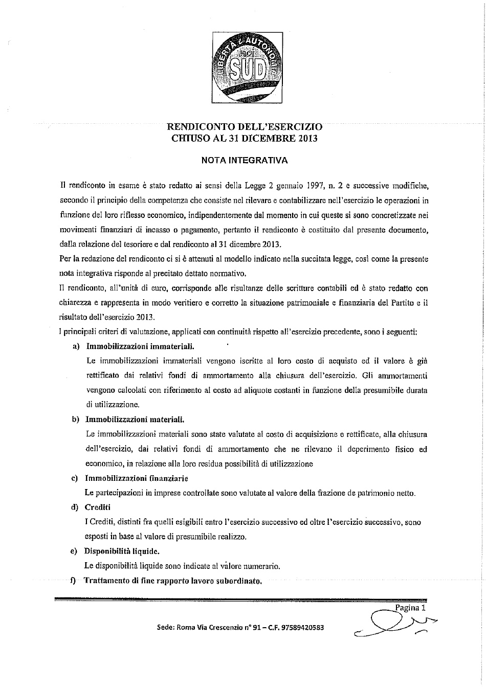 nota integrativa bilancio 2013-1